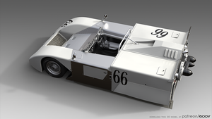 Chaparral 2J #4 by 600v