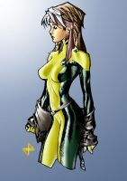 Adam Hughes' Rogue by JulianoSousa