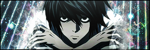 L Lawliet - I Am Justice by albert-V9