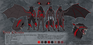 EidolWays Ref Sheet Comm by Chebits