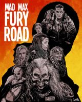 Mad Max Fury Road Poster by jharris