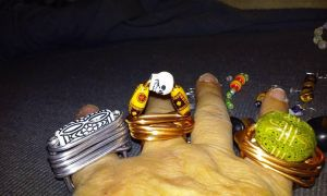 Wire Rings by HydraWoman