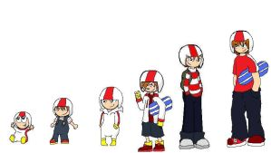 Kick Buttowski--Over the Years by Fongtai