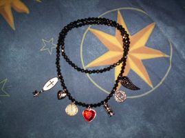 Charm Necklace by GothicDorothy