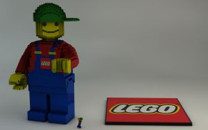 LEGO Mini-Figure 3723 by Dracu-Teufel666