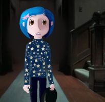 Coraline Despair by buttons9907