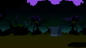 Nightmare night background by sakatagintoki117