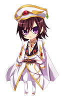 Emperor Lelouch by CaptainStrawberry