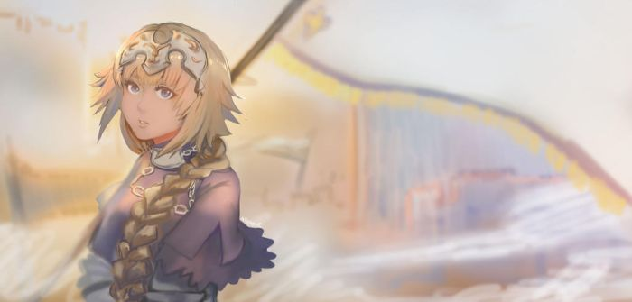 Jeanne D'Arc by allenerie