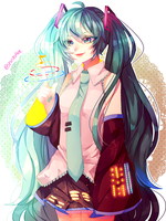 Hatsune Miku Print by ShintaRee