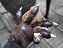 Lutra's Paws (done by Menevoreth) by Lutra75