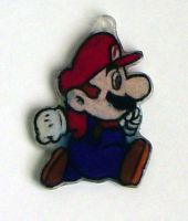 Fangirl Charms- Mario by Isilian