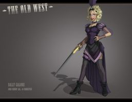 The Old West: The Miss by feuerkorn