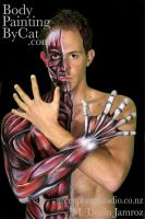 Skinned bodypaint medical NZ by Bodypaintingbycatdot