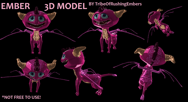 Ember 3D by TribeOfRushingEmbers