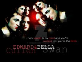 Edward and Bella by NikolaRBD