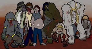 Left 4 Dead Collab Specials by krillatron