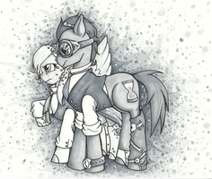Alongside My Derp by AugustRaes