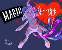 Magic Shattered by Metal-Kitty