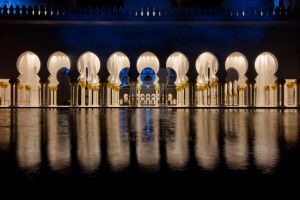 Sheikh Zayed's Mosque by 79oO9ah