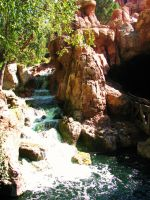 Big Thunder Moutain Waterfall by Clawdee