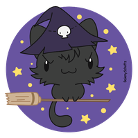 Witch Cat by Daieny