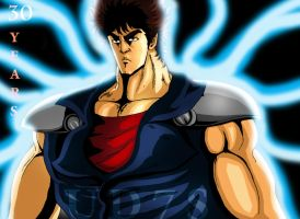 Kenshiro 30 years by UD7S
