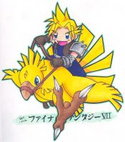 Chocobo Ride by fanchielover15