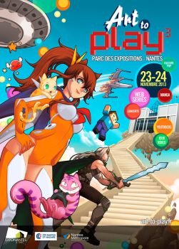 Poster for Art2Play by darax