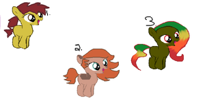 Autumn themed filly adoptables (5-9 points) by Deep-Fried-Love