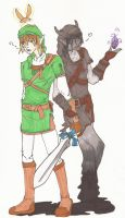 Its just Link and DL, chillin by iStole