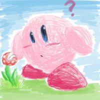 Kirby + Pirahna Plant Thingy by MigBird