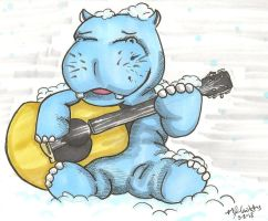 Acoustic Hippo by Randanopterix