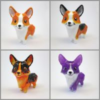Many Corgis! by DragonCid