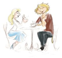 Request 3 - H_A Coffee-Date by SquirrelTamer
