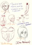 bucky practice sketches by Natterbugg