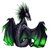 Toxic Dragon WIP by SkyGazerr