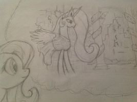 Fluttery dreaming by manfartwish
