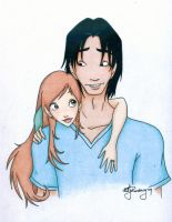 Jacob and Nessie - Coloured by Tella-in-SA