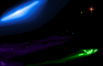 HAL JORDAN AMONG THE COSMOS by CaptainRedblood