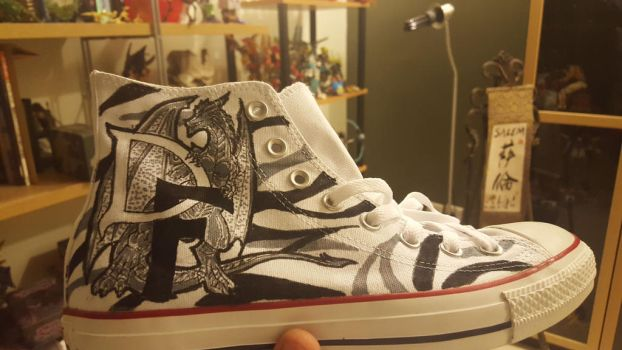 Drago-Flame Converse 2 by drago-flame