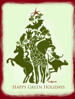 Happy Green Holidays 2007 by puppetdemon