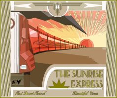 The Sunrise Express by The-Necromancer