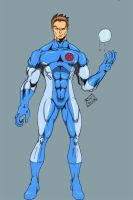 bobby drake in color by Glwills1126
