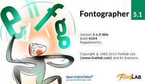 Fontographer 5 by zakdesign