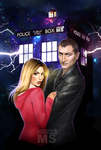 Doctor Who commission by MSonia