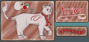 Kurimu Reference Sheet by dragami