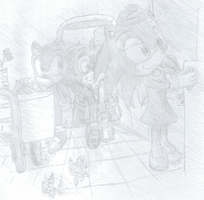 SSA, sonic's house by monstaris