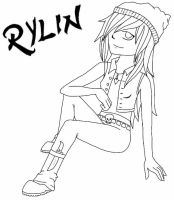 Rylin (My OC) by WolfLover0925