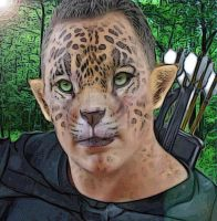 Jaguar Warrior Yourself Fantasy Portrait by SelectYourself